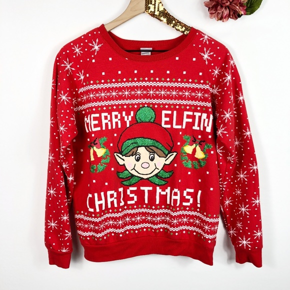 Sweaters Merry Elfin Christmas Sweater Poshmark